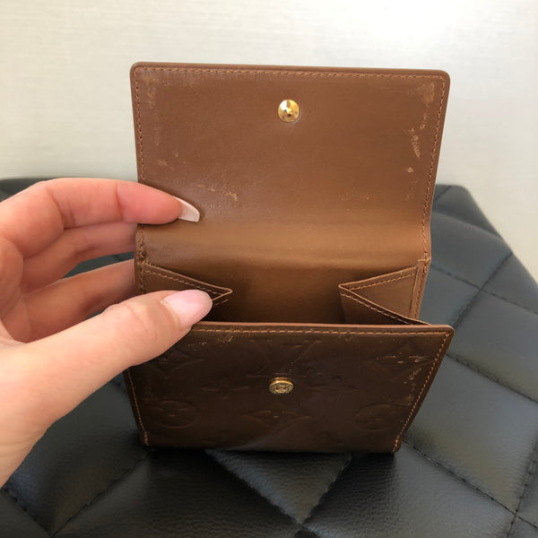 Louis Vuitton Bronze Vernis Wallet