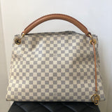 Louis Vuitton Artsy MM Damier Azur canvas