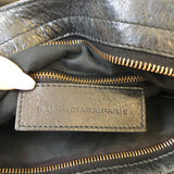 Balenciaga Black Velo Crossbody Bag