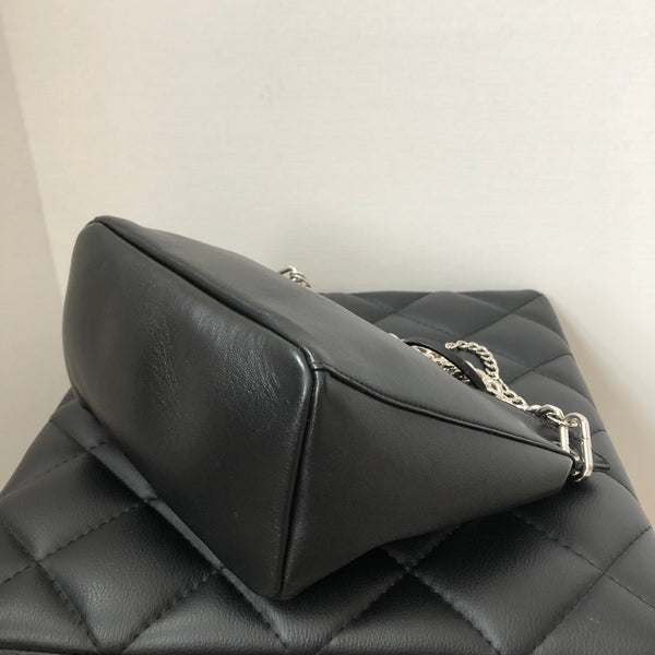 Jimmy Choo Black Chain Raven Crossbody Bag