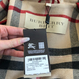 Burberry Brit Military Red Finsdale Wool Coat Size US 4