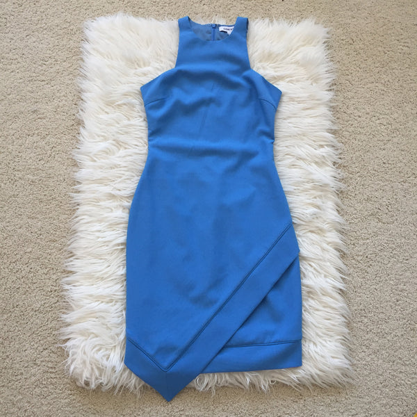 Elizabeth and James New Claire Blue Dress Size 2