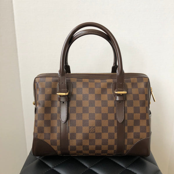Louis Vuitton Damier Ebene Canvas Berkeley Bag