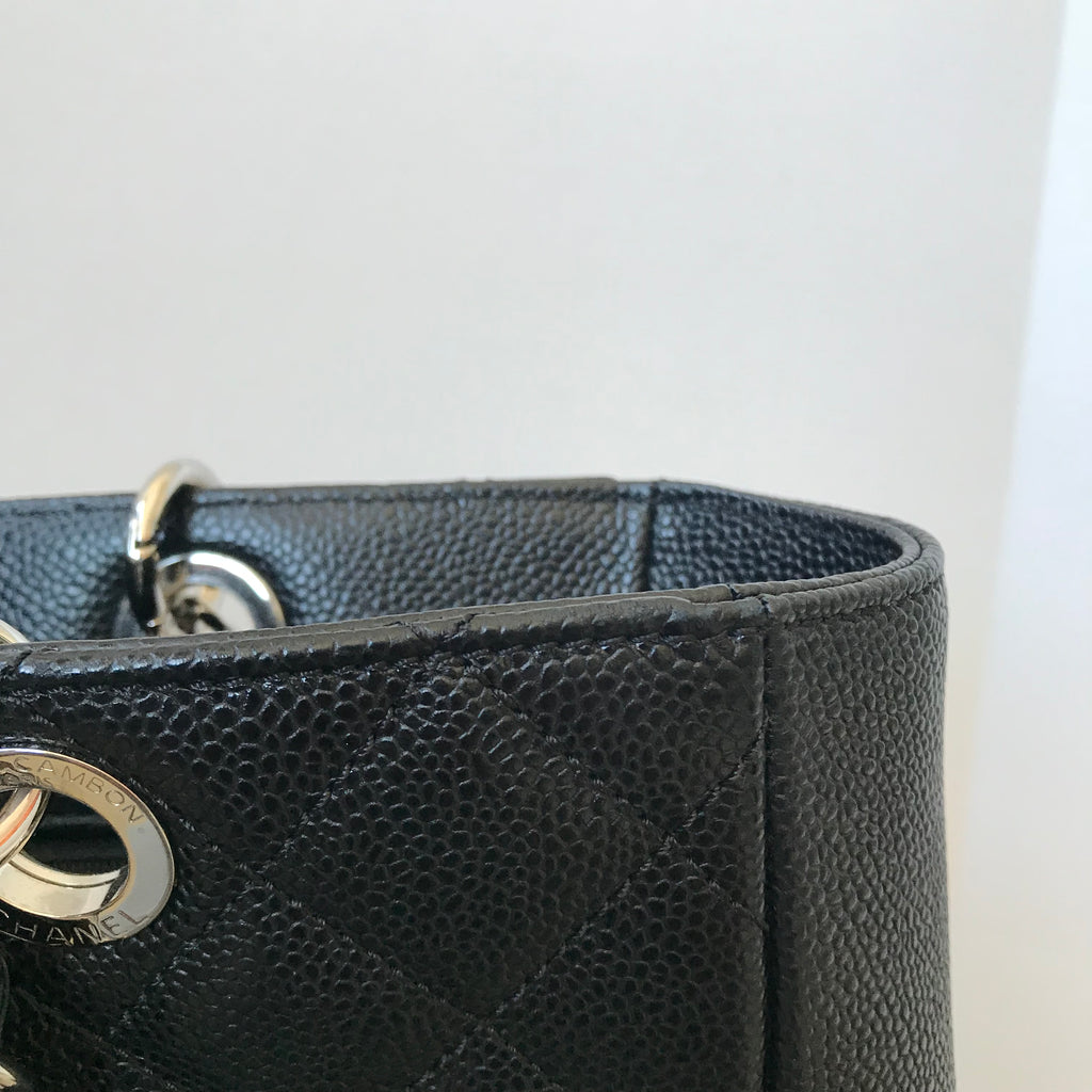 2c3637ad94aa Chanel Black Caviar PST XL Bag | Forever Red Soles