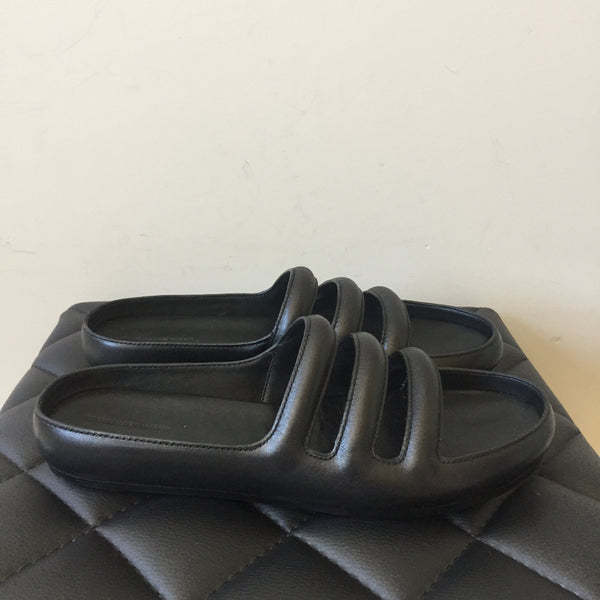 Alexander Wang Black Leather Camilla Sandals Size 41