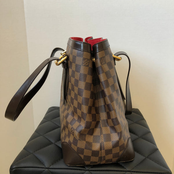 Louis Vuitton Damier Ebene MM Hampstead Tote