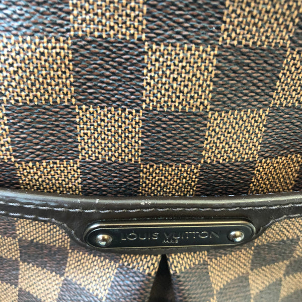 Louis Vuitton Damier Ebene Bloomsbury PM Crossbody Bag