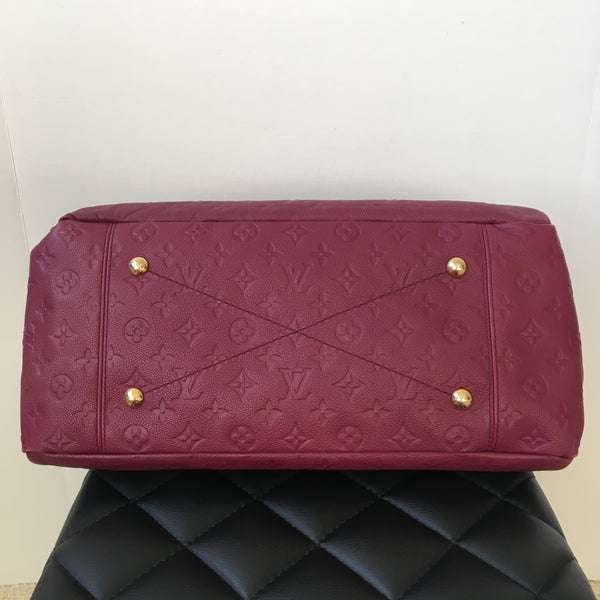 Louis Vuitton Artsy MM Aurore Monogram Empreinte