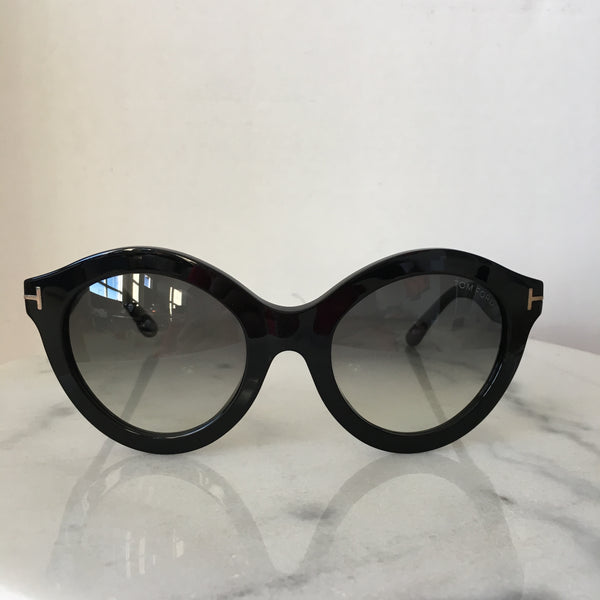 Tom Ford Chiara TF359 Black Sunglasses