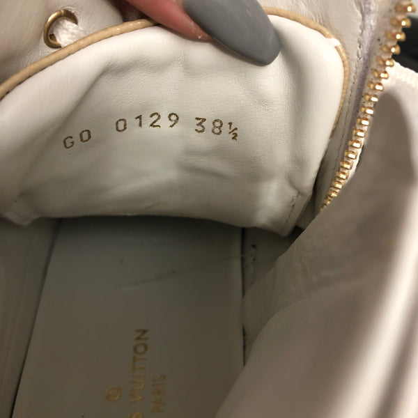 Louis Vuitton Giant Monogram Stellar White Sneaker Size 38.5