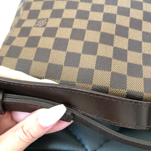 Louis Vuitton Damier Ebene Musette GM Crossbody Bag