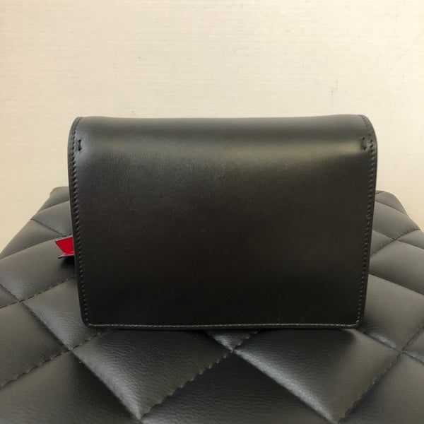 Valentino Black lovers print crossbody bag