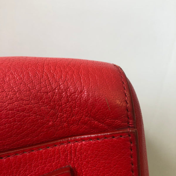 Givenchy Medium Grained Red Antigona