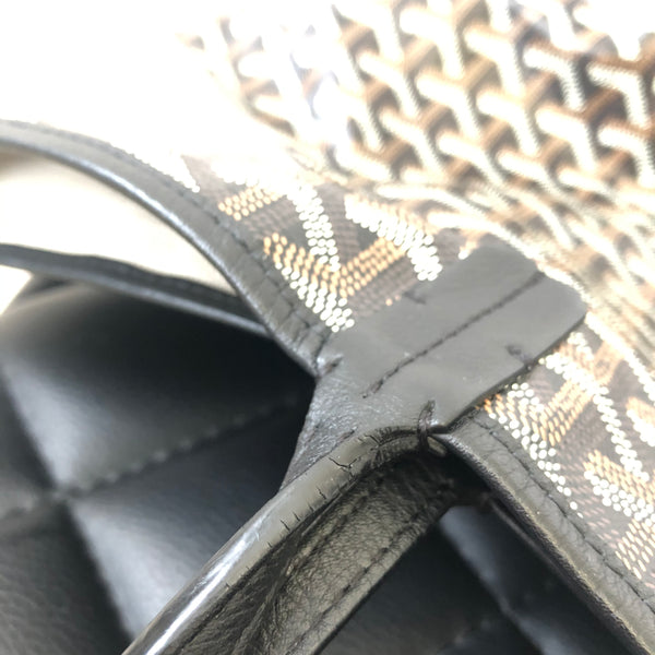Goyard St Louis PM Black Tote