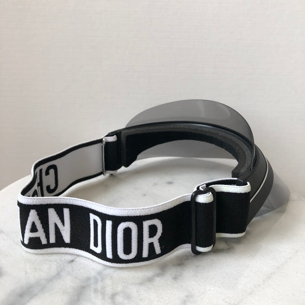 Dior DIORCLUB1 Black and White Visor