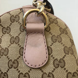Gucci Monogram Lilac/Blue Boston Crossbody/Shoulder Bag