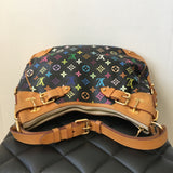 Louis Vuitton Black Multicolor Greta Shoulder Bag