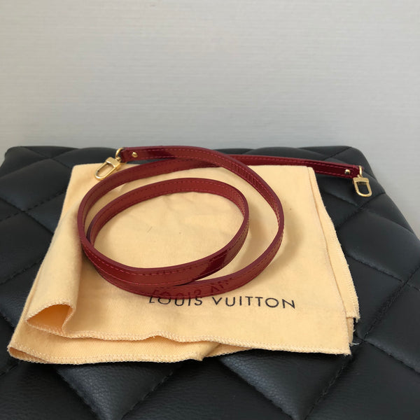 Louis Vuitton Pomme D'Amour Monogram Vernis Leather Alma BB Crossbody Bag
