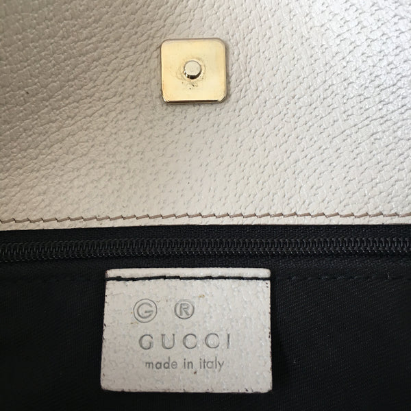 Gucci Black Canvas Crossbody Bag