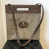 Gucci GG Supreme Soft Leather Skull Tote