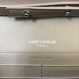 Saint Laurent Dark Beige Textured Matelasse Leather WOC
