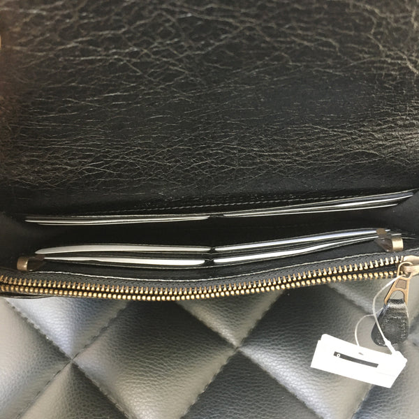 Balenciaga Black Wallet on Chain (WOC)