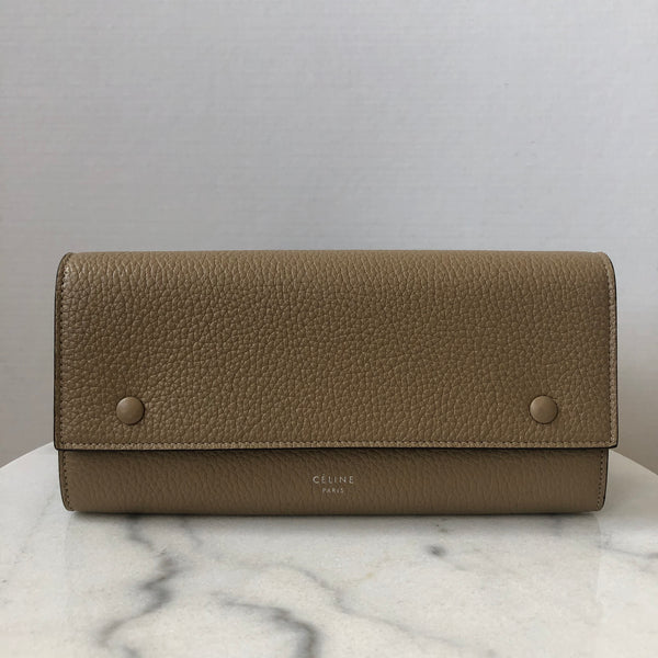 CELINE Dune Large Flap Multifunction Wallet