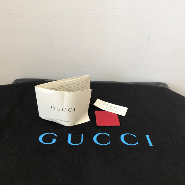 Gucci Medium Red Ghost Leather Tote