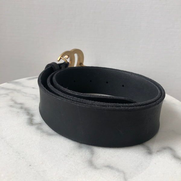 Gucci Black Marmont Belt 85/34