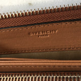 Givenchy Pandora Tan Brown Zip Wallet