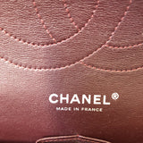 Chanel Jumbo Black Caviar Double Flap Bag Silver Hardware