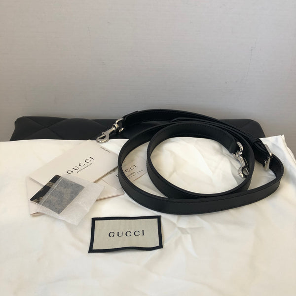 GUCCI GG Supreme Caleido Web Crossbody Bag/Clutch