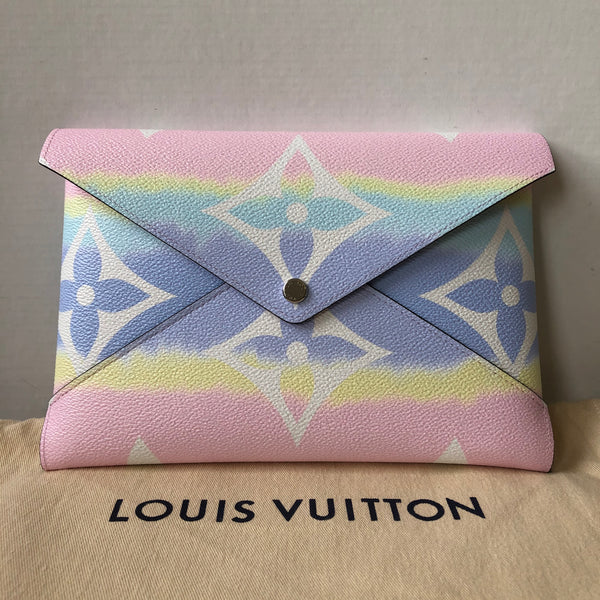Louis Vuitton ESCALE Large Pochette Kirigami