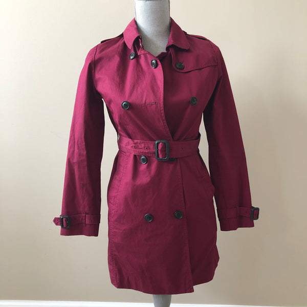Burberry Children's Fuchsia Coat Size 12Y (fits Ladies US 0)