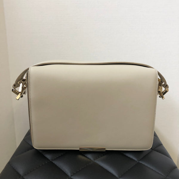 Victoria Beckham Light Grey Shoulder Bag