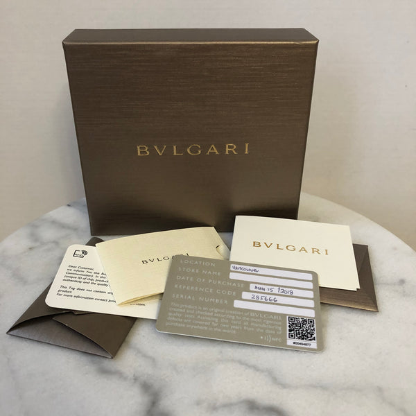 BVLGARI Serpenti Forever Metallic Bag Charm/Miniature Bag