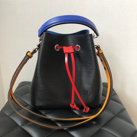 Louis Vuitton NéoNoé Noir Safran Epi Crossbody/Shoulder Bag