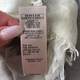 Burberry Mega Check Green & Cream Scarf/Shawl