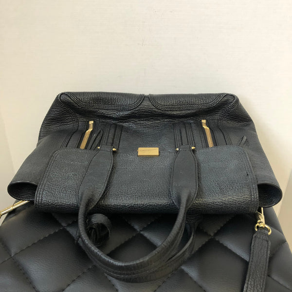 3.1 Phillip Lim Black Medium Pashli Crossbody Bag