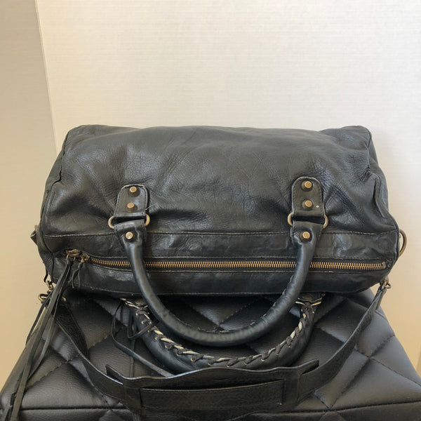 Balenciaga Black Classic Twiggy Shoulder Bag
