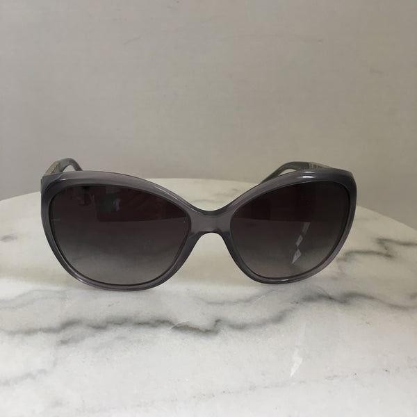 Chanel Grey Bijou Crystal Sunglasses