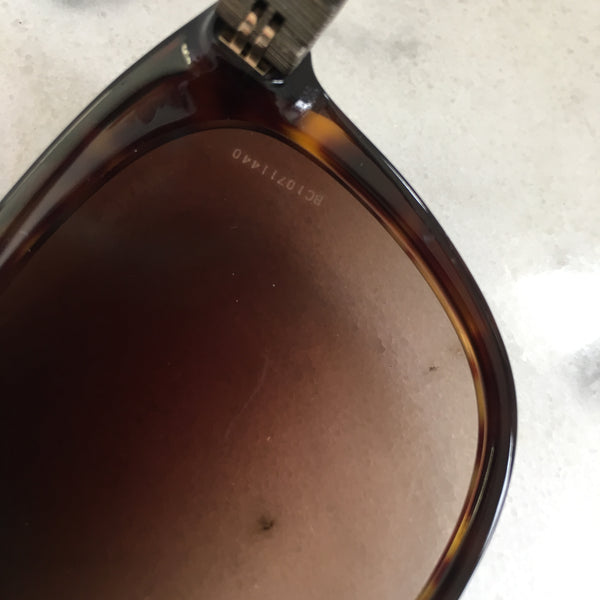 Chanel Havana Brown Bijou Sunglasses