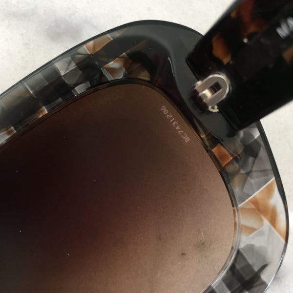 Chanel Brown/Black Sunglasses