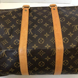 Louis Vuitton Monogram KEEPALL BANDOULIÈRE 45