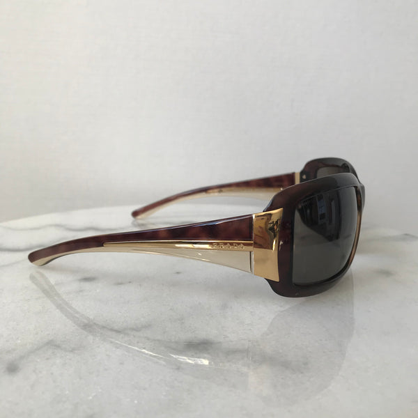 Prada Havana Brown/Gold Sunglasses