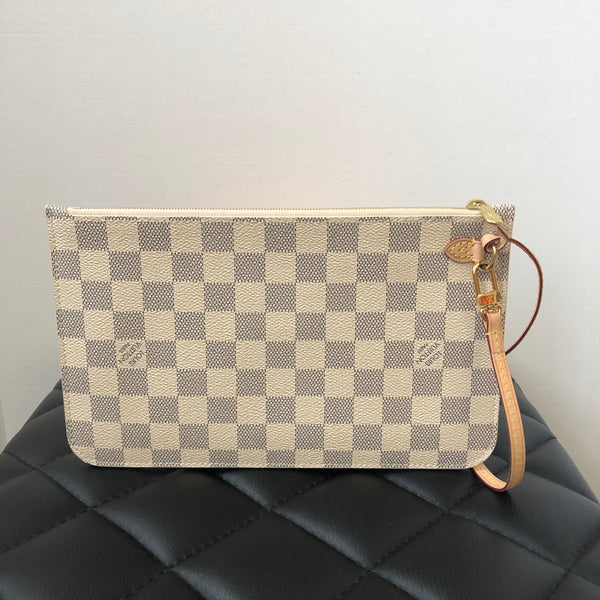Louis Vuitton Damier Azur Wristlet/Clutch