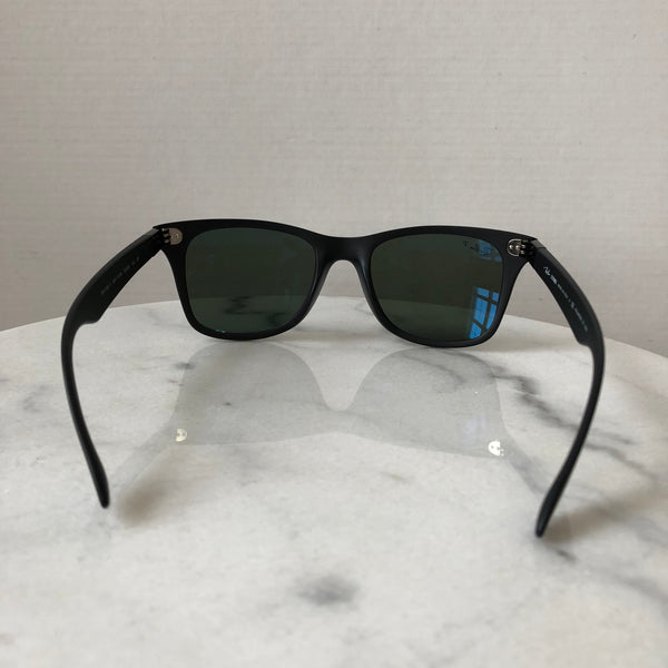 Ray Ban Polarized Black/Green WAYFARER LITEFORCE