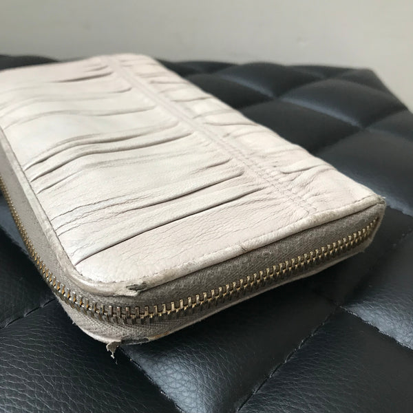 Prada Long Wallet in Pomice