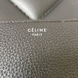 Celine Black Zip Around Wallet