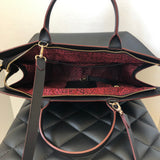 Longchamp Black Large Le Pliage Heritage Crossbody Bag